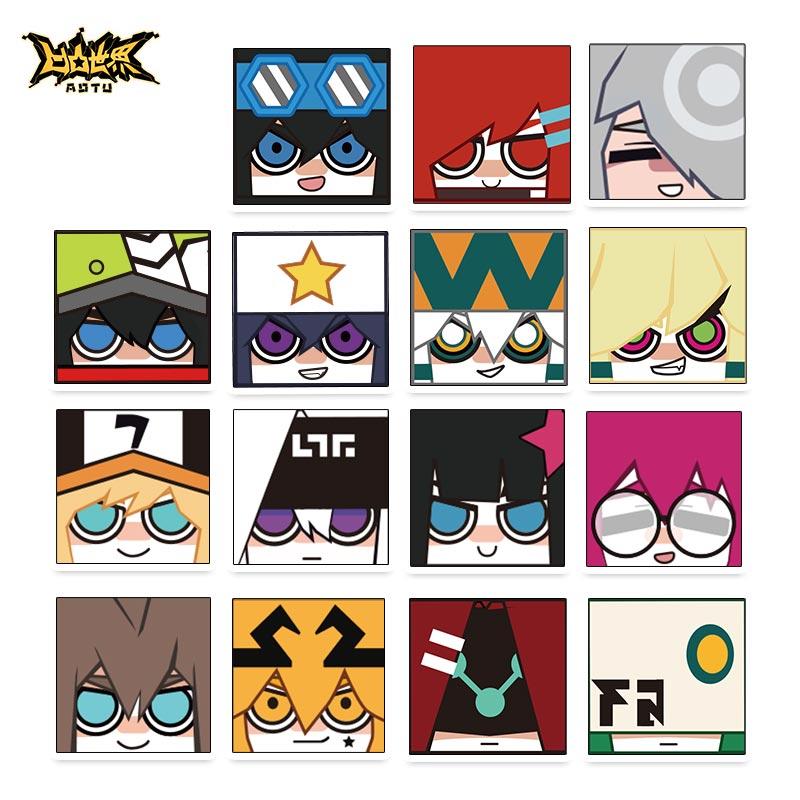 七创社 凹凸世界官方正版动漫周边二次元方头系列角色亚克力夹子